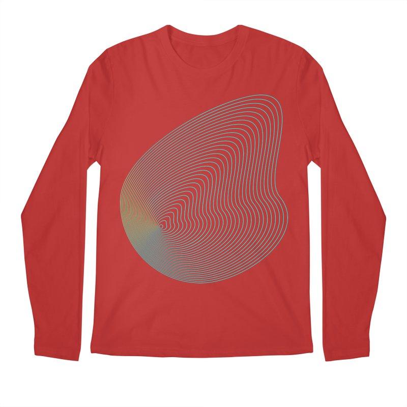 Ripple Men's Regular Longsleeve T-Shirt by zeroing 's Artist Shop