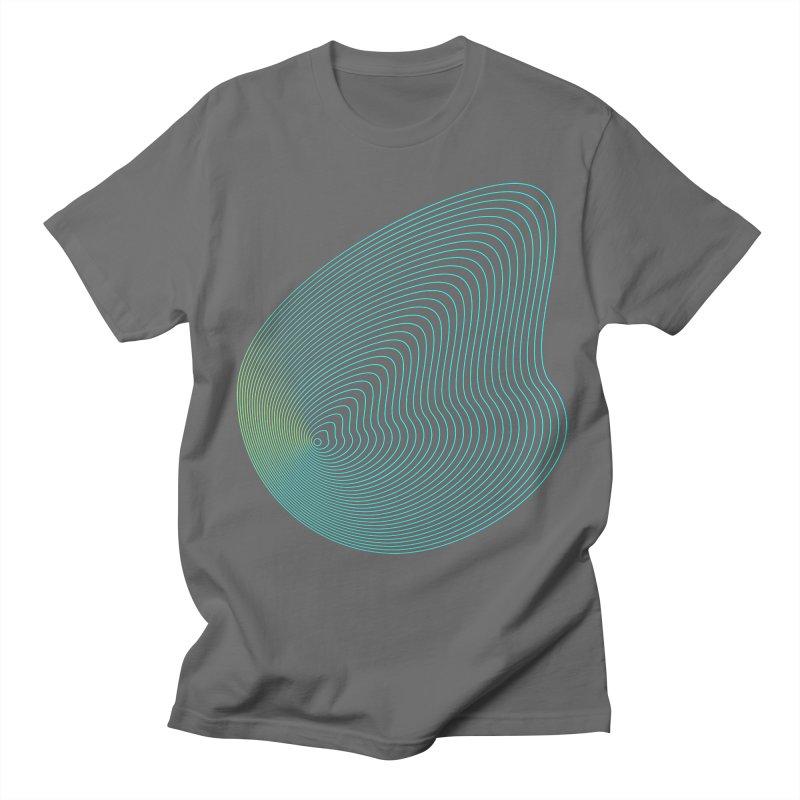 Ripple Men's Regular T-Shirt by zeroing 's Artist Shop