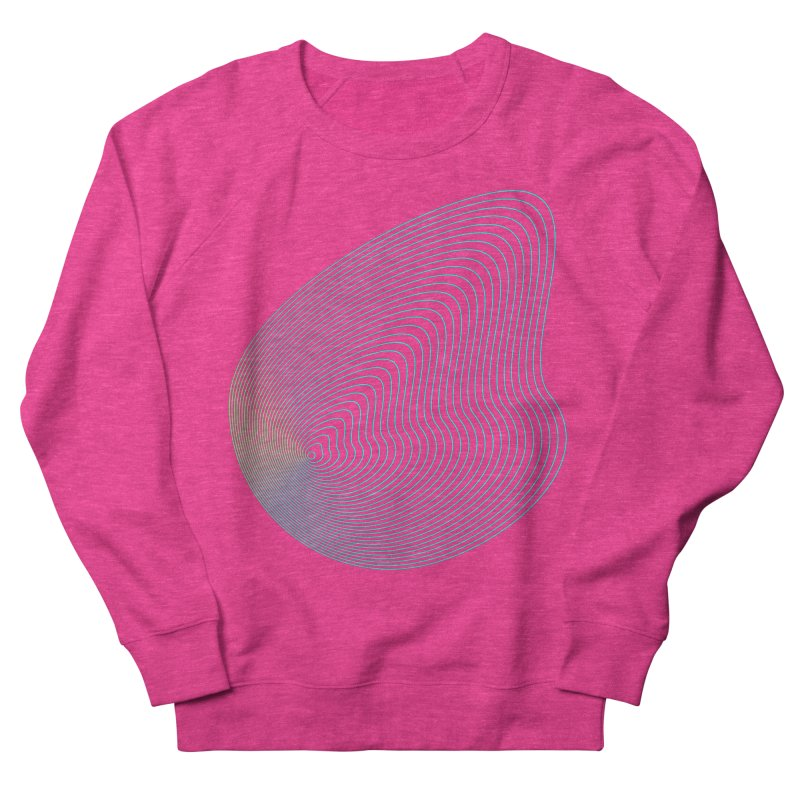 Ripple Women's French Terry Sweatshirt by zeroing 's Artist Shop
