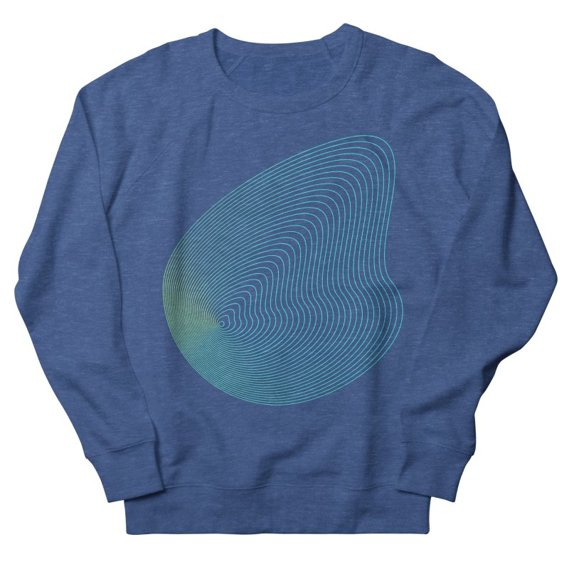 Ripple Men's French Terry Sweatshirt by zeroing 's Artist Shop