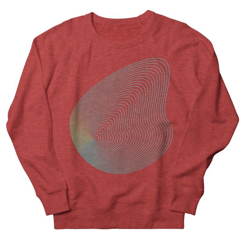 Ripple Men's French Terry Sweatshirt by zeroing 's Artist Shop
