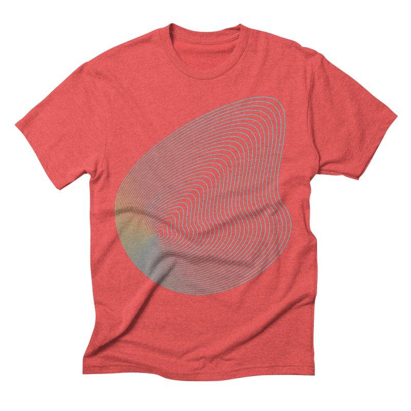 Ripple Men's Triblend T-Shirt by zeroing 's Artist Shop