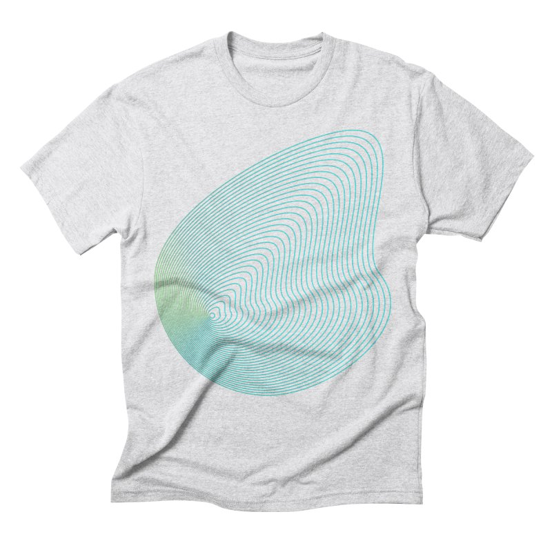 Ripple Men's Triblend T-Shirt by zeroing 's Artist Shop