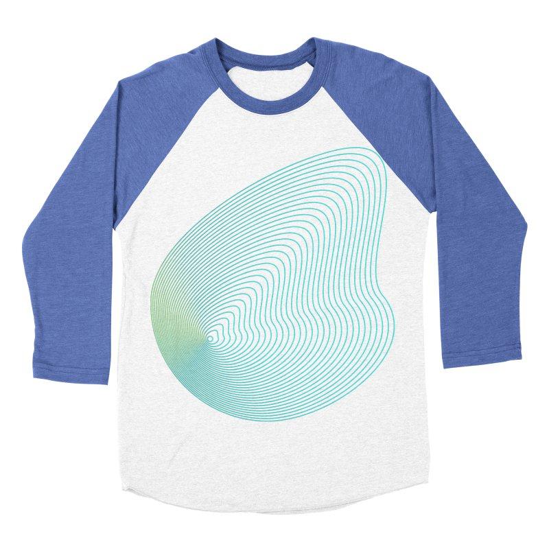 Ripple Women's Baseball Triblend Longsleeve T-Shirt by zeroing 's Artist Shop