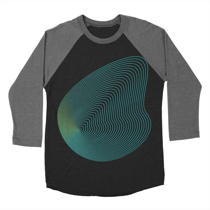 Ripple Men's Baseball Triblend Longsleeve T-Shirt by zeroing 's Artist Shop