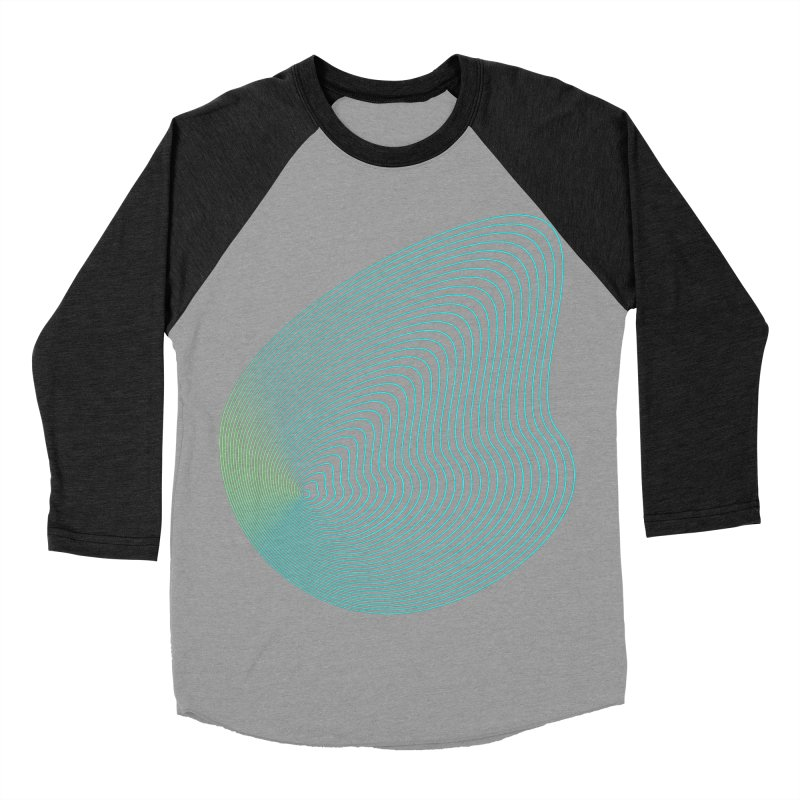 Ripple Men's Baseball Triblend Longsleeve T-Shirt by zeroing 's Artist Shop
