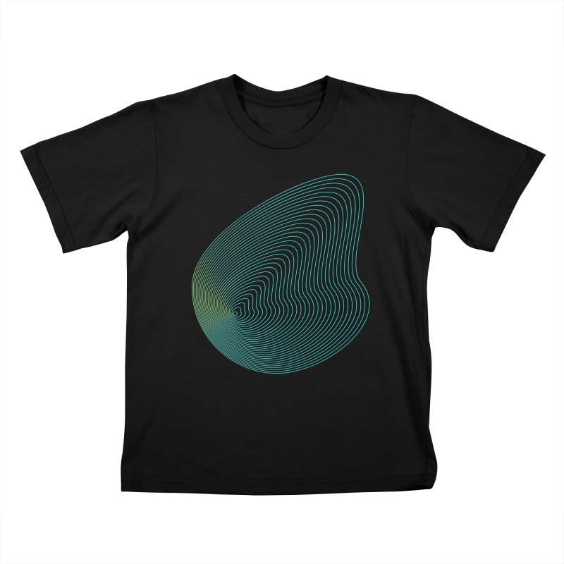 Ripple Kids T-Shirt by zeroing 's Artist Shop