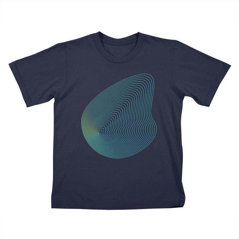 Ripple Kids T-Shirt by zeroing 's Artist Shop