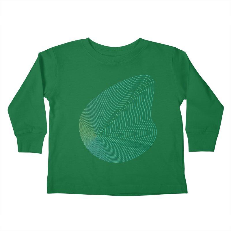 Ripple Kids Toddler Longsleeve T-Shirt by zeroing 's Artist Shop