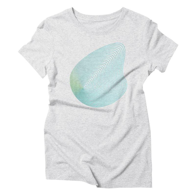 Ripple Women's Triblend T-Shirt by zeroing 's Artist Shop