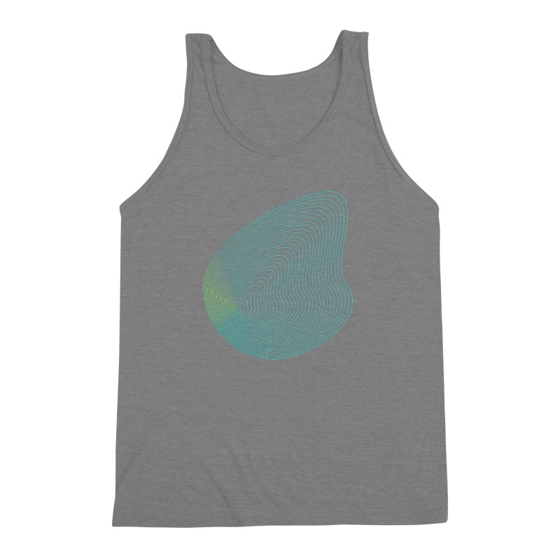 Ripple Men's Triblend Tank by zeroing 's Artist Shop