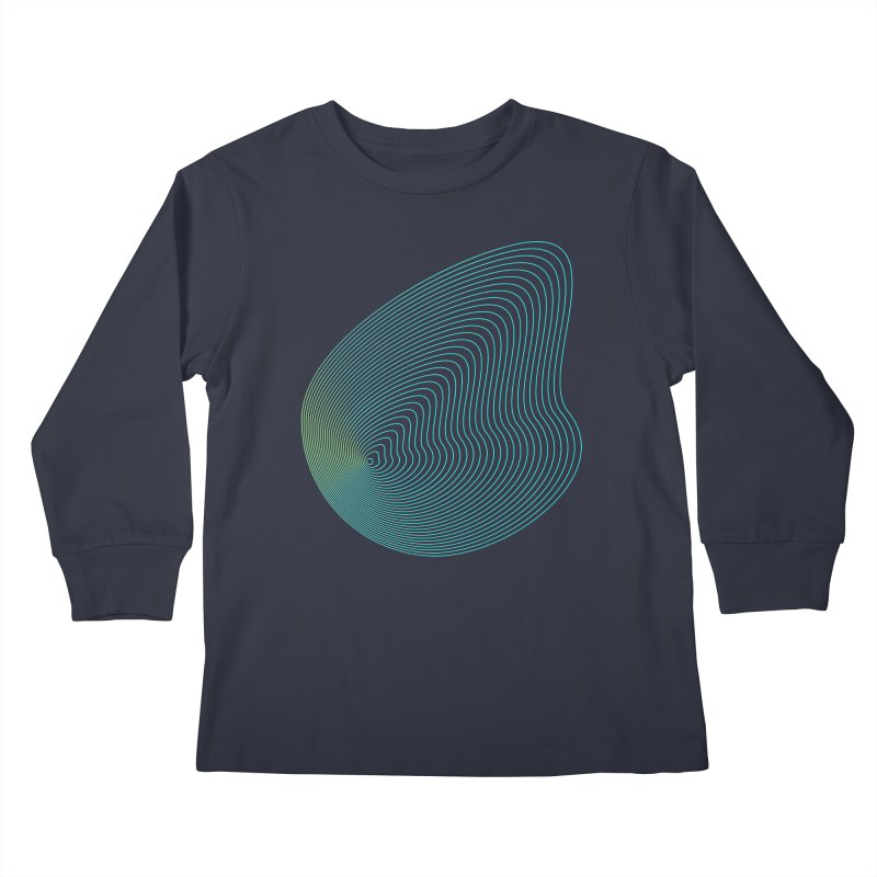 Ripple Kids Longsleeve T-Shirt by zeroing 's Artist Shop
