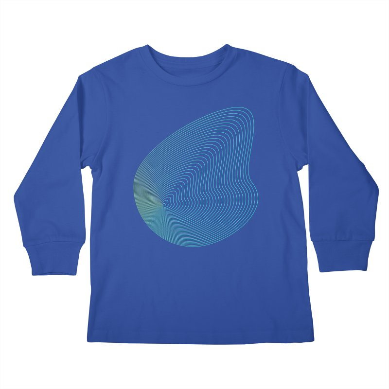 Ripple Kids Longsleeve T-Shirt by zeroing 's Artist Shop