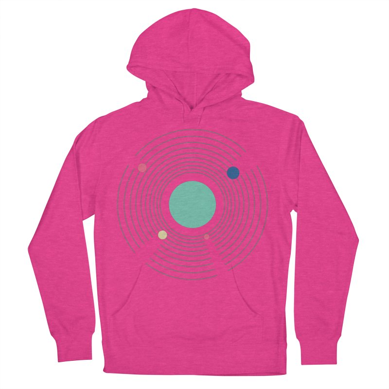Orbit Women's French Terry Pullover Hoody by zeroing 's Artist Shop