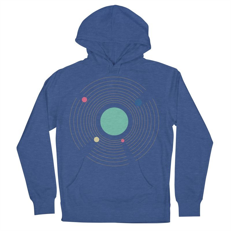 Orbit Men's French Terry Pullover Hoody by zeroing 's Artist Shop