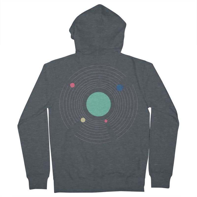 Orbit Men's French Terry Zip-Up Hoody by zeroing 's Artist Shop