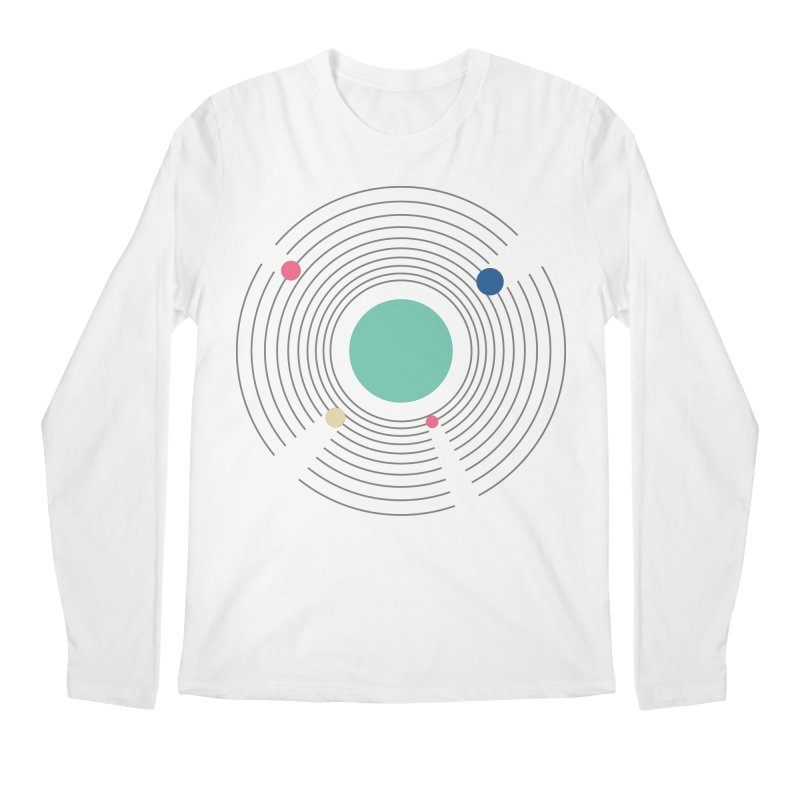 Orbit Men's Regular Longsleeve T-Shirt by zeroing 's Artist Shop