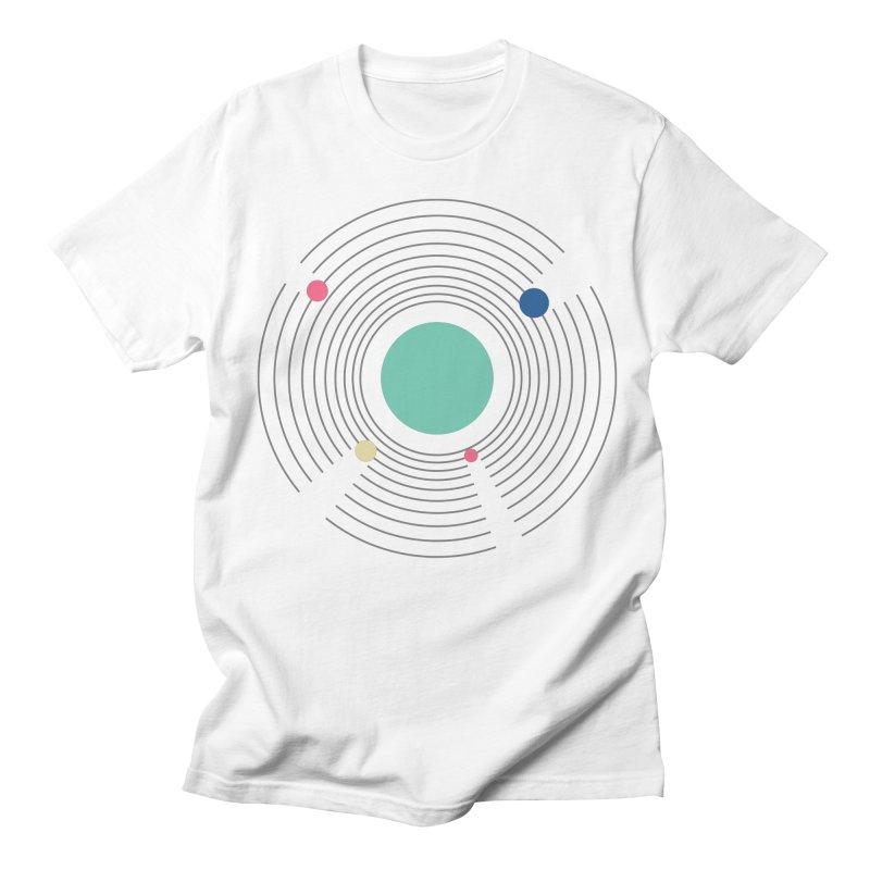 Orbit Men's Regular T-Shirt by zeroing 's Artist Shop