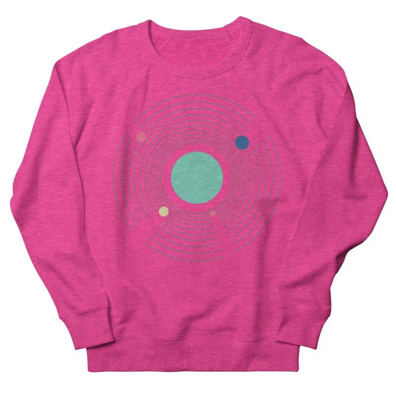 Orbit Women's French Terry Sweatshirt by zeroing 's Artist Shop