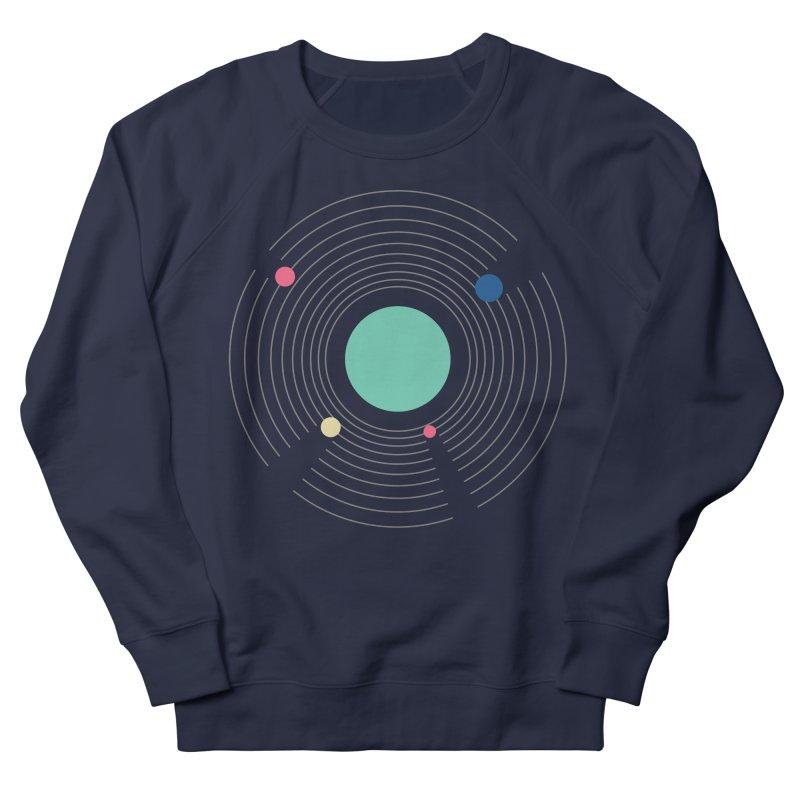 Orbit Men's French Terry Sweatshirt by zeroing 's Artist Shop