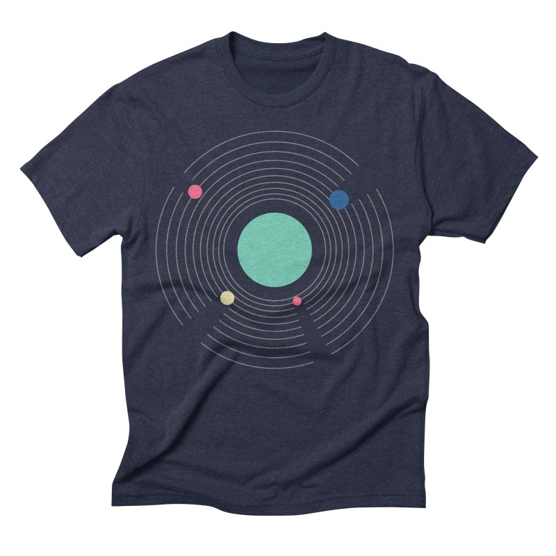 Orbit Men's Triblend T-Shirt by zeroing 's Artist Shop