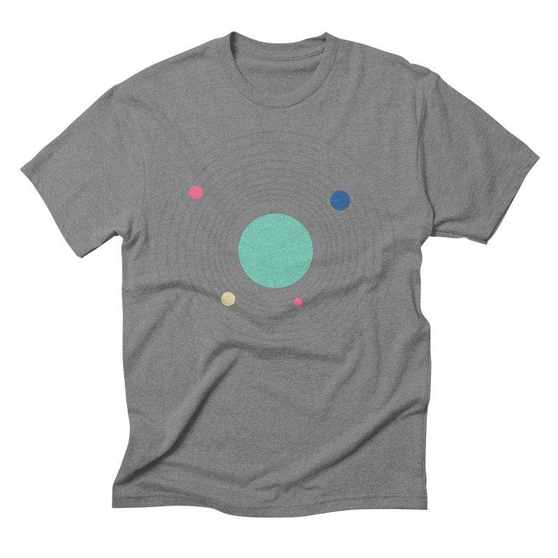 Orbit Men's Triblend T-Shirt by zeroing 's Artist Shop