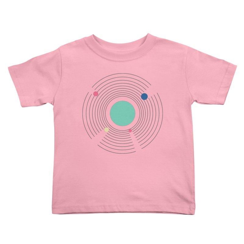 Orbit Kids Toddler T-Shirt by zeroing 's Artist Shop