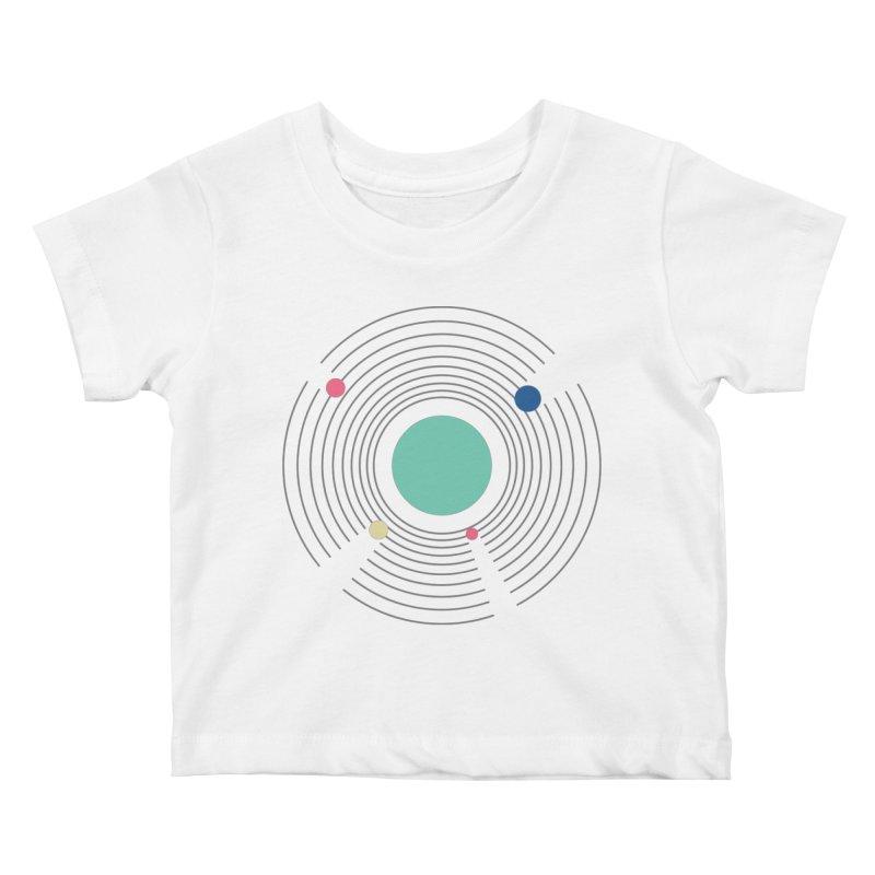 Orbit Kids Baby T-Shirt by zeroing 's Artist Shop