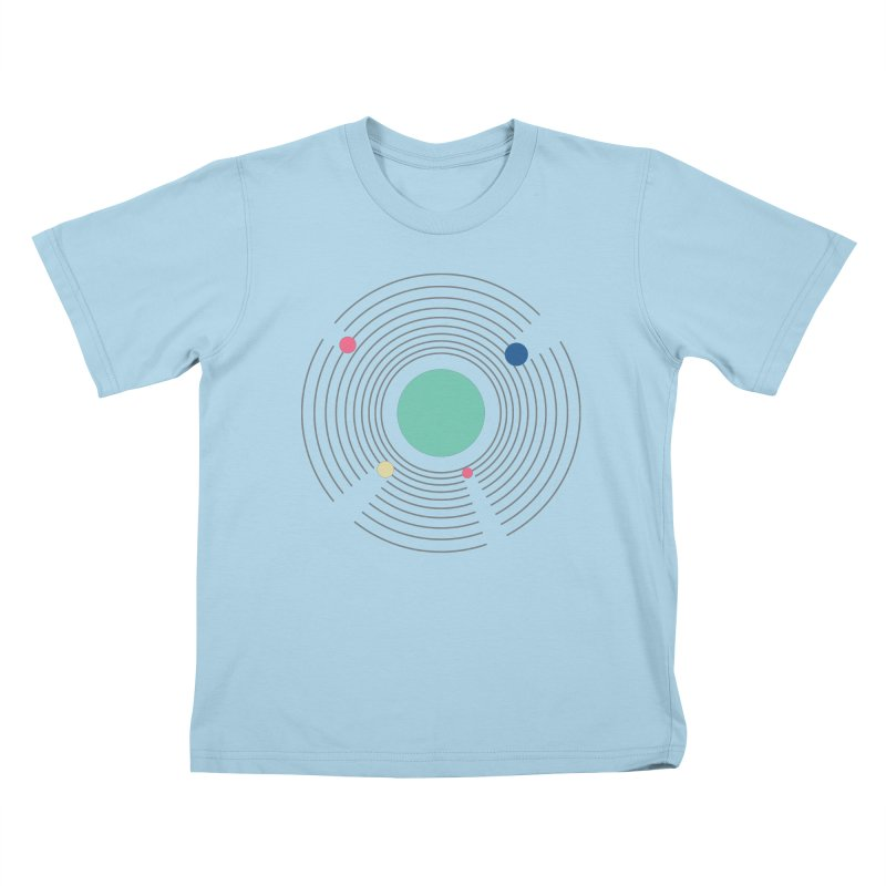 Orbit Kids T-Shirt by zeroing 's Artist Shop