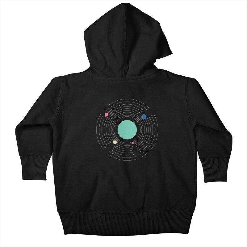 Orbit Kids Baby Zip-Up Hoody by zeroing 's Artist Shop