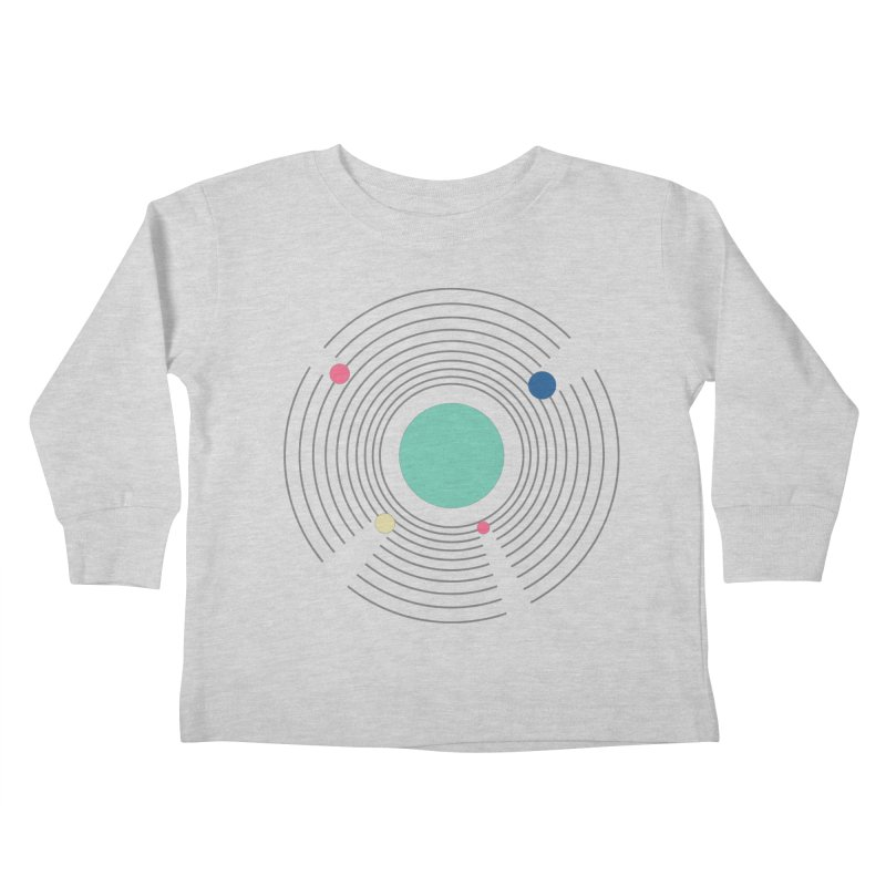 Orbit Kids Toddler Longsleeve T-Shirt by zeroing 's Artist Shop