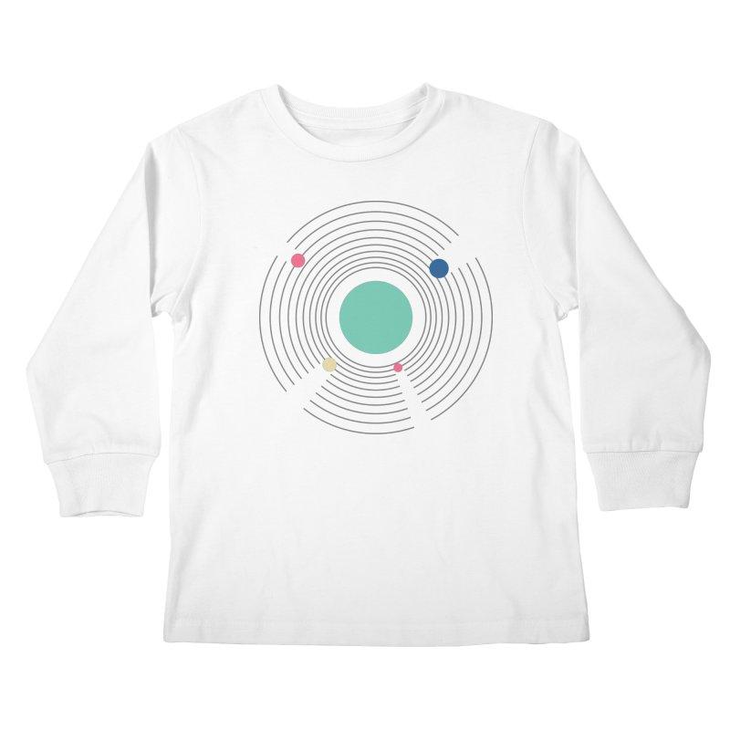 Orbit Kids Longsleeve T-Shirt by zeroing 's Artist Shop