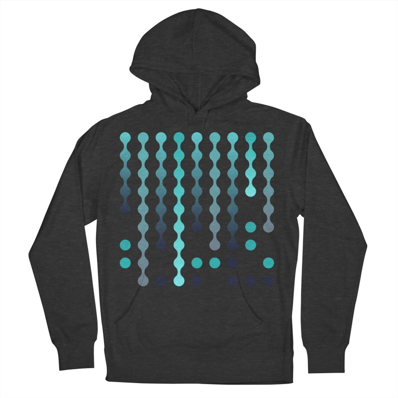 Droplets  Women's French Terry Pullover Hoody by zeroing 's Artist Shop