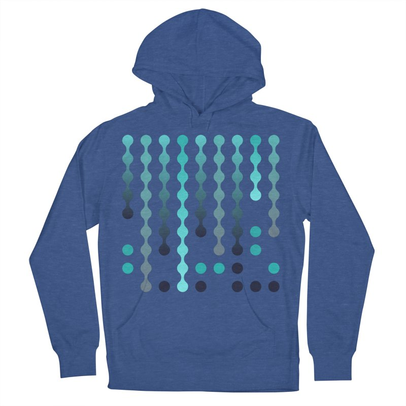 Droplets  Men's French Terry Pullover Hoody by zeroing 's Artist Shop