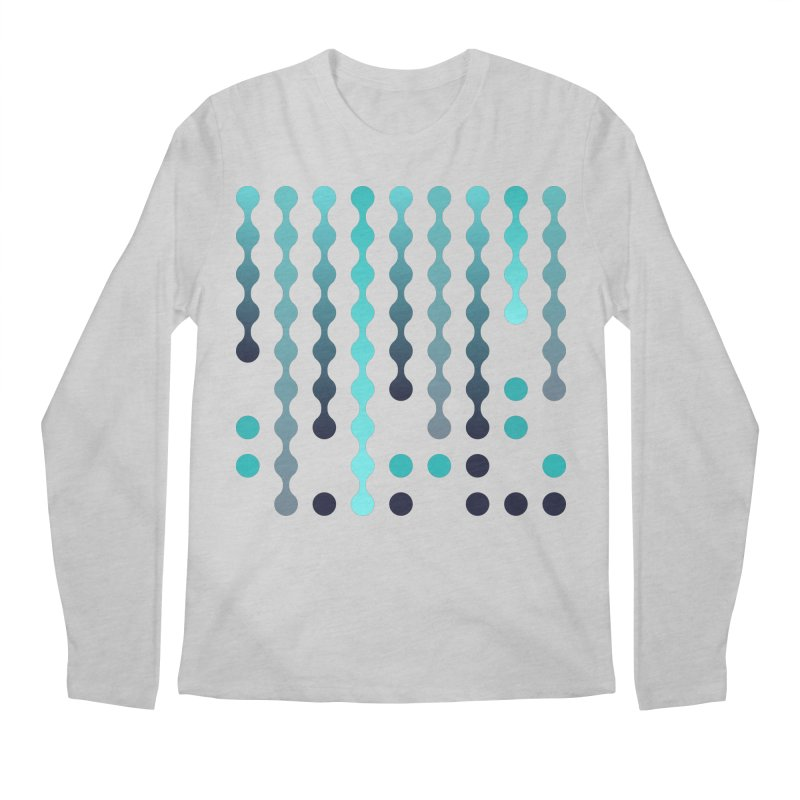 Droplets  Men's Regular Longsleeve T-Shirt by zeroing 's Artist Shop