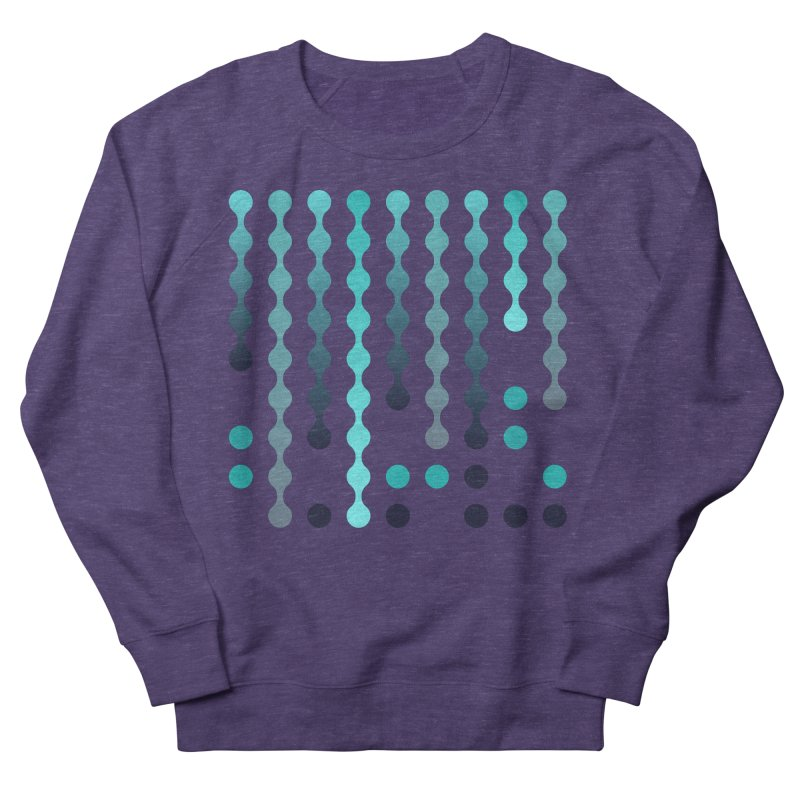 Droplets  Women's French Terry Sweatshirt by zeroing 's Artist Shop