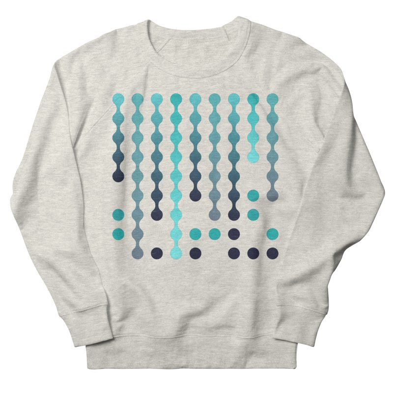 Droplets  Men's French Terry Sweatshirt by zeroing 's Artist Shop