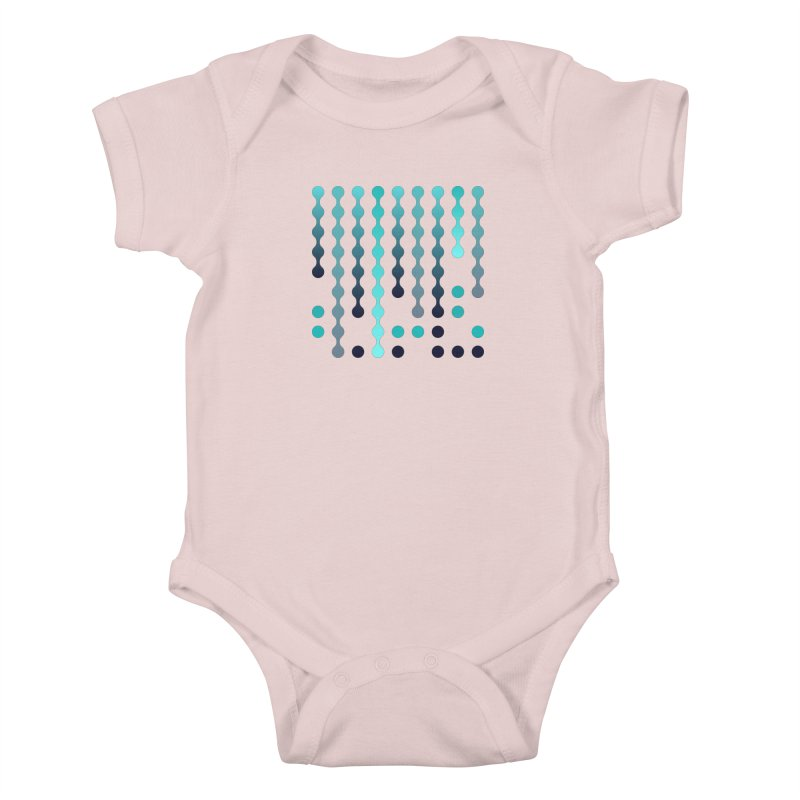 Droplets  Kids Baby Bodysuit by zeroing 's Artist Shop
