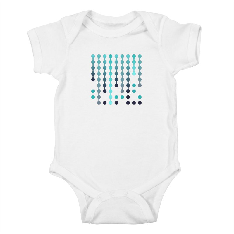 Droplets  Kids Baby Bodysuit by zeroing 's Artist Shop