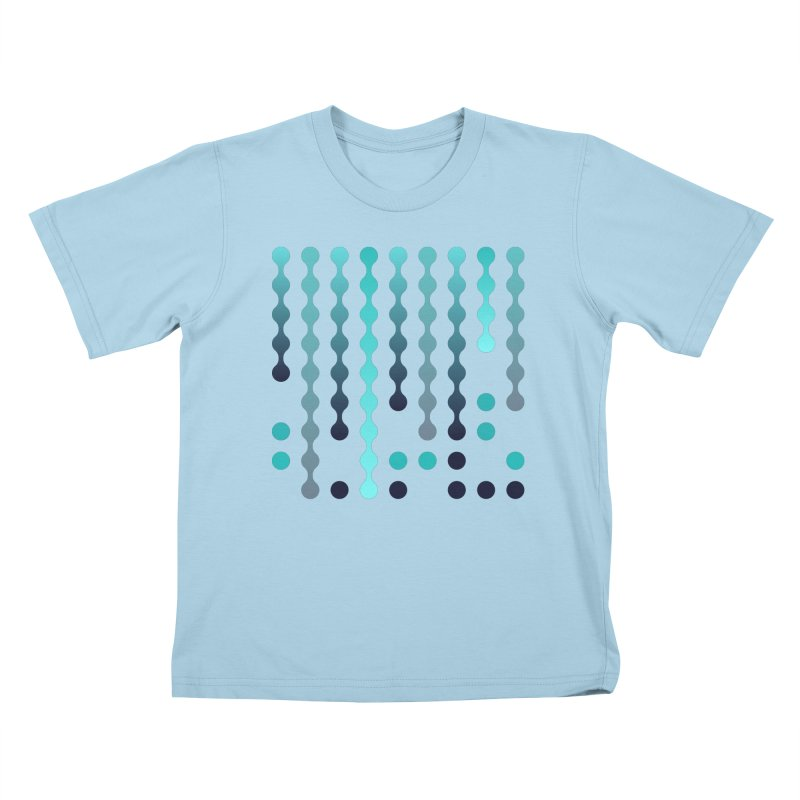 Droplets  Kids T-Shirt by zeroing 's Artist Shop