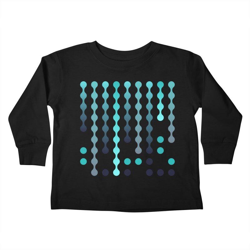 Droplets  Kids Toddler Longsleeve T-Shirt by zeroing 's Artist Shop