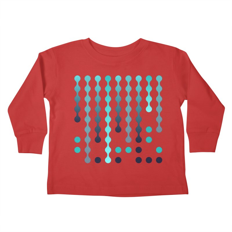 Droplets  Kids Toddler Longsleeve T-Shirt by zeroing 's Artist Shop