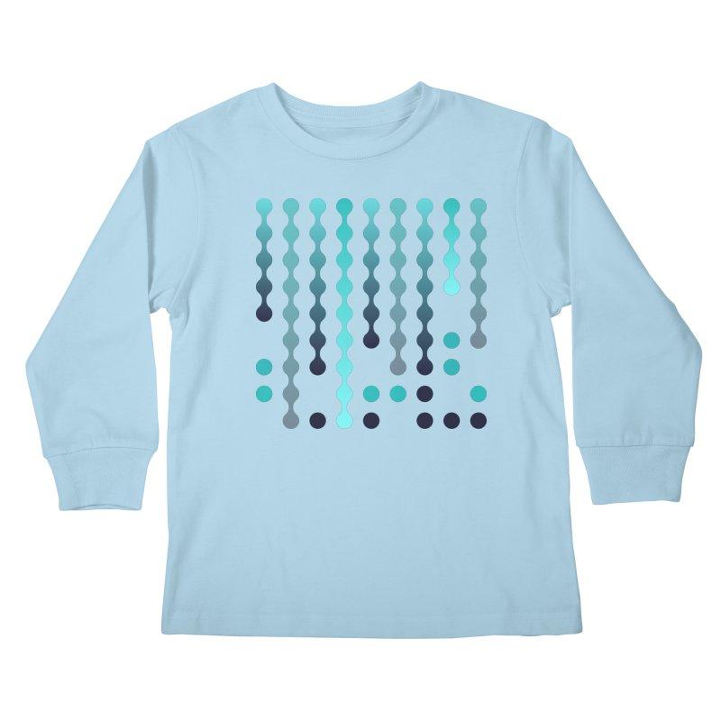 Droplets  Kids Longsleeve T-Shirt by zeroing 's Artist Shop