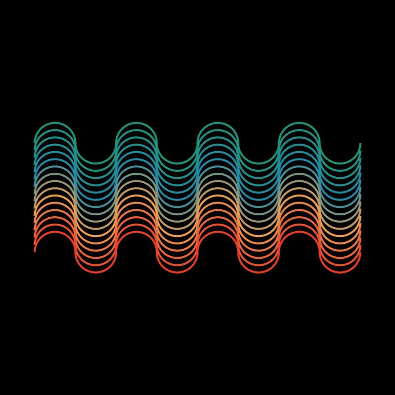 Gradient Wave by zeroing 's Artist Shop