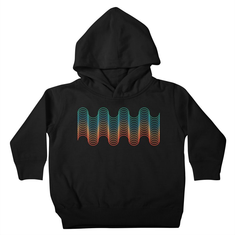 Gradient Wave Kids Toddler Pullover Hoody by zeroing 's Artist Shop