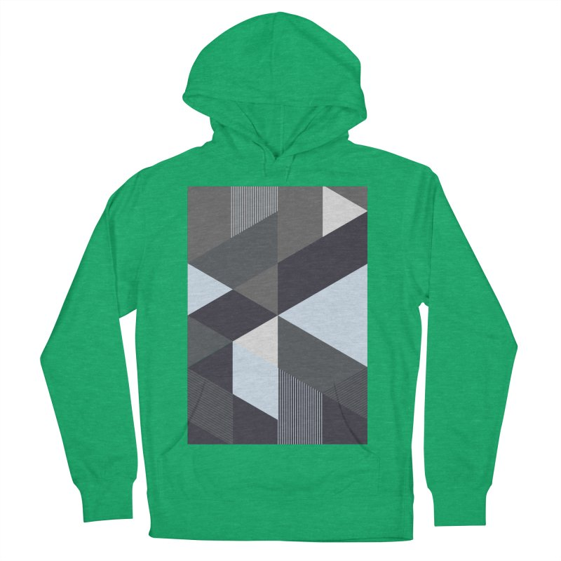 Block Colors Women's French Terry Pullover Hoody by zeroing 's Artist Shop