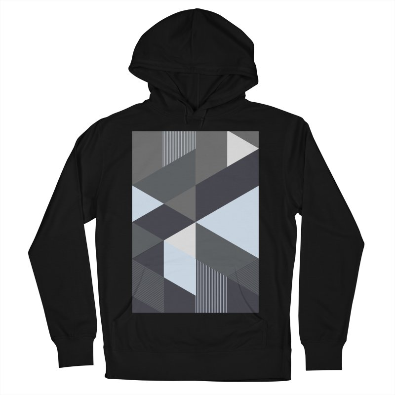 Block Colors Men's French Terry Pullover Hoody by zeroing 's Artist Shop