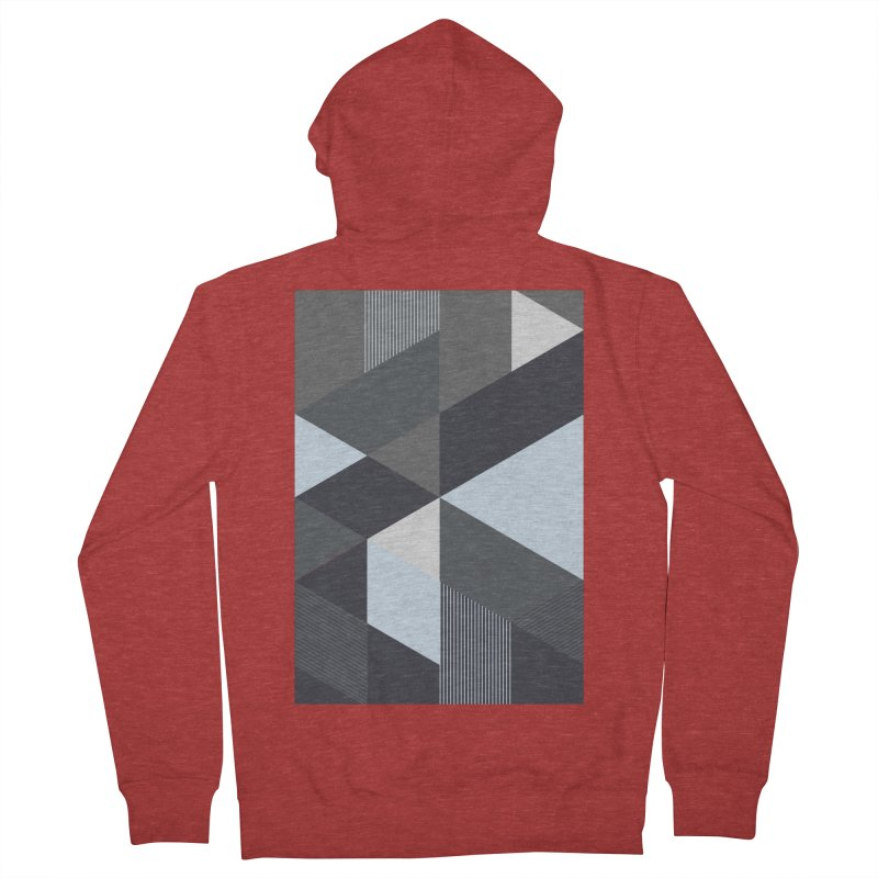 Block Colors Women's French Terry Zip-Up Hoody by zeroing 's Artist Shop