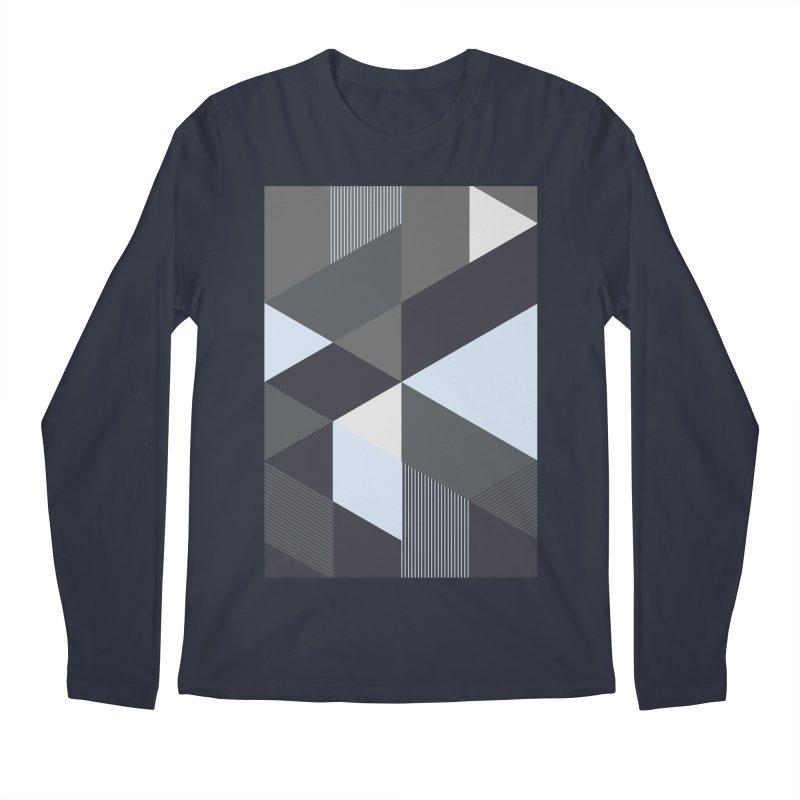 Block Colors Men's Regular Longsleeve T-Shirt by zeroing 's Artist Shop