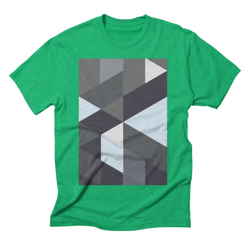 Block Colors Men's Triblend T-Shirt by zeroing 's Artist Shop